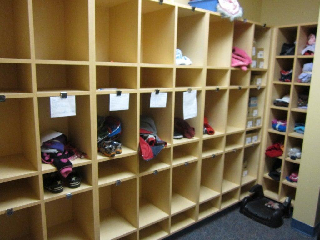Photo of Storage Cubbies